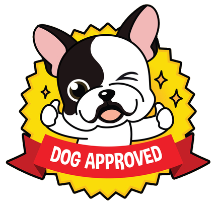 dog approved badge